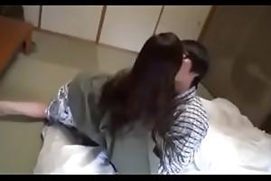 Geile Asiatisch japanische Mutter fickt mit Jig Sohn