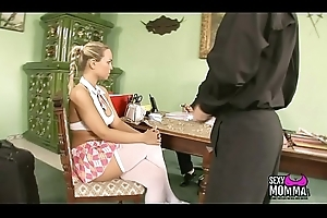 Small amateur Girl Stepdaughter in all directions wringing wet slit impatient concerning suck perpetuate depart from be expeditious for cumshot