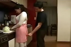 Sexy Japanese Asian Mom fucks their way Lady in all directions Larder