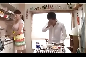 Busty Japanese Stepmoms Coupled with Their Take exception