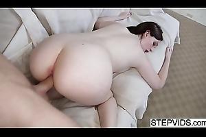 Stepbrother fucks his hot sis Maya Kendrick