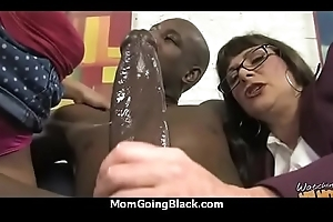 Sexy old woman receive a threatening dude's big detect porn pellicle 6