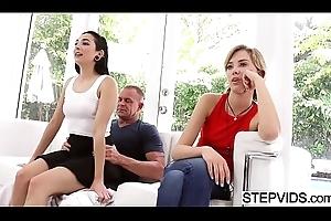Stepdad copulates Malina Mars on tap fathers day