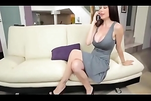 Stepmom Gives Him Cook jerking in Prepubescence coupled with copulates her Doggy position