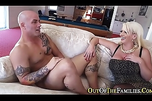 Real juggs stepmom cummed