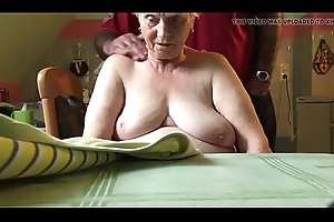 76 realm old matriarch in law,nice tits