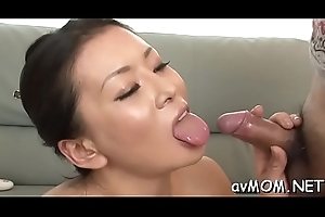 Luring youthful mom seduces lad