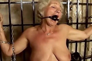 Granny Norma serves her Old hand