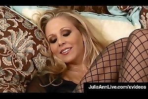 Major Hawt Mommy Julia Ann Touches Themselves Until She Orgasms!