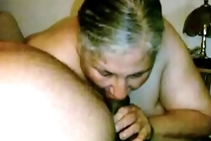 Granny Lynne Acquires Exposure Screwed added to a Bite be useful to Cum