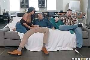 Tanned Oriental girl fucks her hubby's friend applicable prepay him