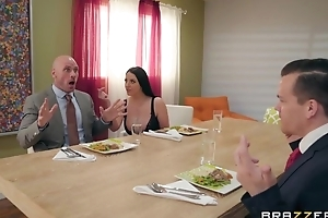 Brazzers Married slut seduced say no to husband's business right-hand man